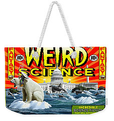 Weird Science Weekender Tote Bag