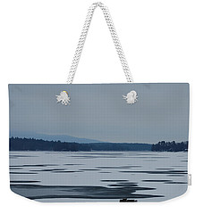 Weirs Beach Nh Almost Weekender Tote Bag by Mim White