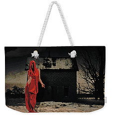 Welcome Weekender Tote Bag by Galen Valle