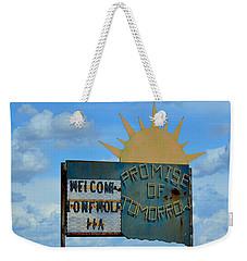Hometown Welcome Weekender Tote Bag