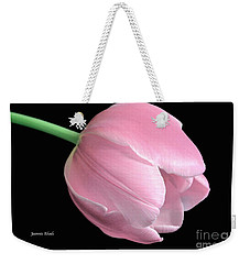 Welcome Spring In Pink Weekender Tote Bag by Jeannie Rhode