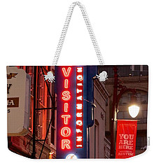 Welcome To 6th Street Weekender Tote Bag