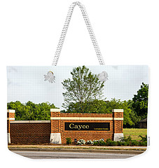 Welcome To Cayce Weekender Tote Bag