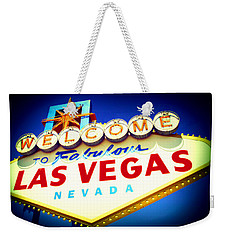 Welcome To Fabulous Las Vegas Weekender Tote Bag