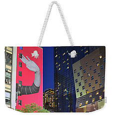 Welcome To New York Weekender Tote Bag