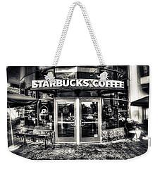 Welcome To Starbucks Weekender Tote Bag