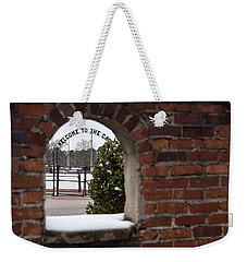 Welcome To The Cage Weekender Tote Bag