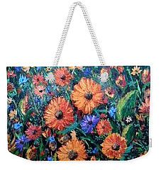 Welcoming The Dawn Weekender Tote Bag