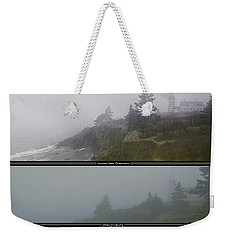 Weekender Tote Bag featuring the photograph We'll Keep The Light On For You by Marty Saccone