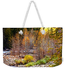 Wenatchee River - Leavenworth - Washington Weekender Tote Bag