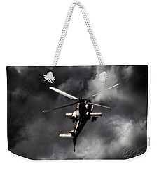 Weekender Tote Bag featuring the photograph Were To Go by Paul Job