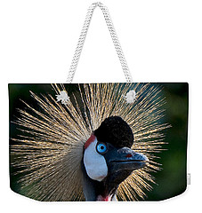 West African Crowned Crane Weekender Tote Bag
