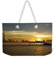 West Bay Sunset Weekender Tote Bag