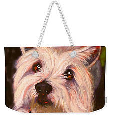 West Highland Terrier Reporting For Duty Weekender Tote Bag