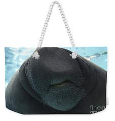 West Indian Manatee Smile Weekender Tote Bag