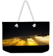 West Of Town Weekender Tote Bag