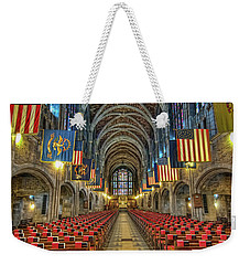 West Point Cadet Chapel Weekender Tote Bag by Dan McManus