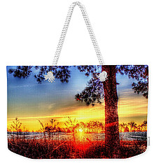 West Tennessee Sunrise Weekender Tote Bag