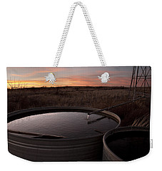 West Texas Plains Sunset Weekender Tote Bag