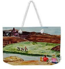 Western Canyons Weekender Tote Bag
