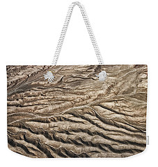 Weekender Tote Bag featuring the photograph Western Desert Tapestry by Gary Slawsky
