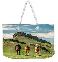 Western Longhorns Weekender Tote Bag