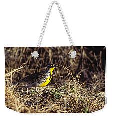 Western Meadowlark Weekender Tote Bag by Steven Ralser