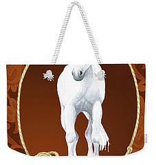 Western Roundup Standing Horse Weekender Tote Bag