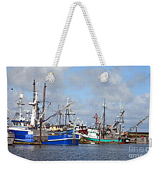 Westport Fishing Boats 2 Weekender Tote Bag