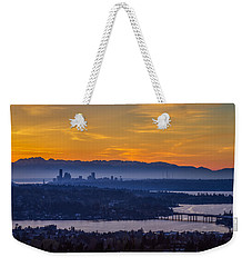 Gateway To Seattle Weekender Tote Bag