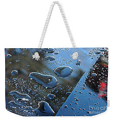 Wet Car Weekender Tote Bag by Randi Grace Nilsberg