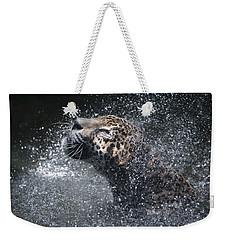 Wet Jaguar  Weekender Tote Bag