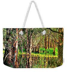 Wetland Reflections Weekender Tote Bag by Wallaroo Images