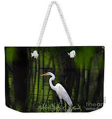 Wetland Wader Weekender Tote Bag