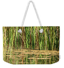 Weekender Tote Bag featuring the photograph Wetlands by Laurel Powell