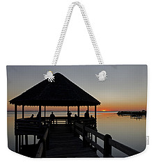Weekender Tote Bag featuring the photograph Whalehead Sunset Obx by Greg Reed