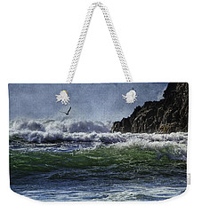 Whales Head Beach Southern Oregon Coast Weekender Tote Bag