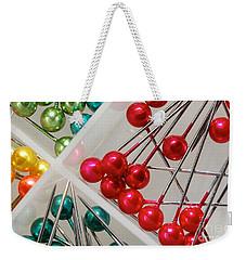 What A Buncha Pinheads Weekender Tote Bag by Margie Chapman