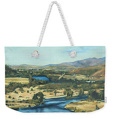 What A Dam Site Weekender Tote Bag