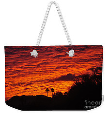 Weekender Tote Bag featuring the photograph What A Gift by Jay Milo