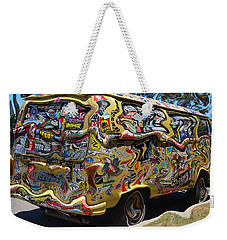 What A Long Strange Trip Weekender Tote Bag