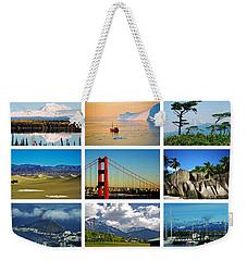 My Wonderful World ... Weekender Tote Bag