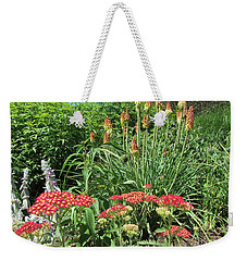 Weekender Tote Bag featuring the photograph What A Wonderful World - Flowers by Susan Carella