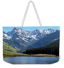 Beautiful Colorado Weekender Tote Bag by Fiona Kennard
