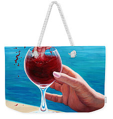What's In Your Goblet? Weekender Tote Bag