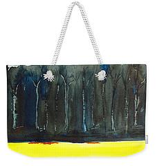 Wheat Field 2 Weekender Tote Bag by Carlin Blahnik