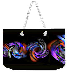 Wheels In Motion Weekender Tote Bag