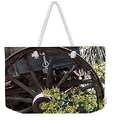 Wheels In The Garden Weekender Tote Bag