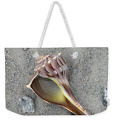 Whelk With Sand Weekender Tote Bag