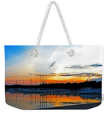 When The Sun Goes Down Weekender Tote Bag by Susan  McMenamin